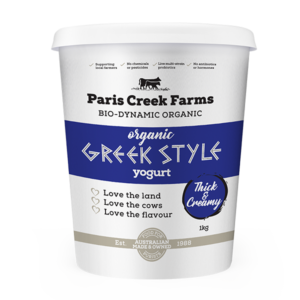 Organic Natural Greek Style Yoghurt
