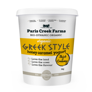 Organic Honey Caramel Greek Style Yoghurt Product image